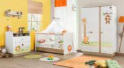 Çilek mobilya bebek odası tasarımları