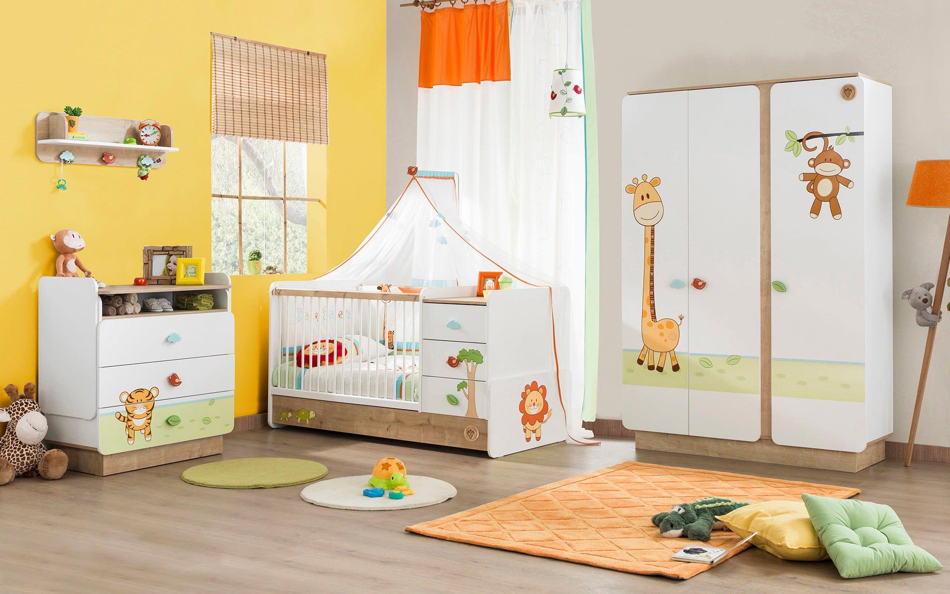 Çilek mobilya bebek odası tasarımları 1