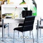 Alfemo mobilya yeni mutfak masa sandalye takımları 2