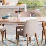 Alfemo mobilya yeni mutfak masa sandalye takımları 11