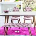 Alfemo mobilya yeni mutfak masa sandalye takımları 5