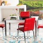 Alfemo mobilya yeni mutfak masa sandalye takımları 9