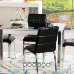 Alfemo mobilya yeni mutfak masa sandalye takımları 10