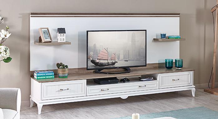 tv ünitesi tekzen Kelebek Mobilya yeni tv ünite modelleri