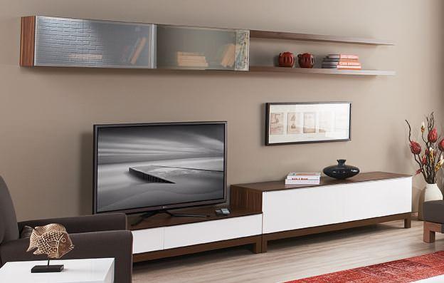 lüks tv plazma ünitesi Kelebek Mobilya yeni tv ünite modelleri