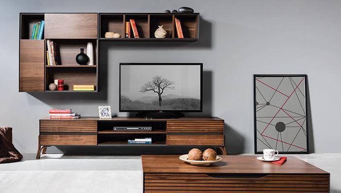 kelebek mobilya tv üniteleri Kelebek Mobilya yeni tv ünite modelleri