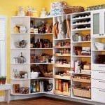 Fonksiyonel mutfak eşyası depolama fikirleri 13