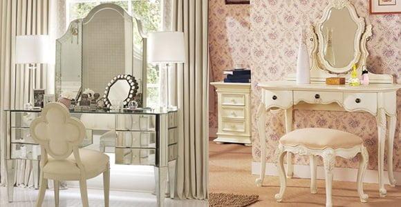 dekoratif makyaj masaları