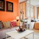 Küçük daireler için dekoratif dekorasyon stilleri 4