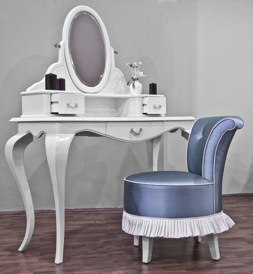 beyaz lüks makyaj masası