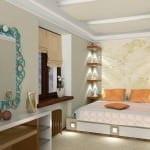 Küçük daireler için dekoratif dekorasyon stilleri 8