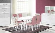 Ladin mobilya dekoratif yemek odası takımları