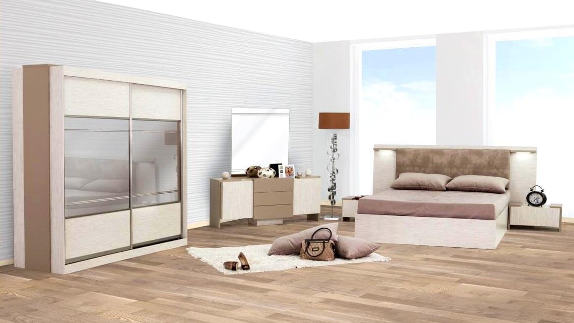 rapsodi modern yatak odası