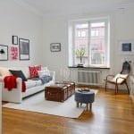 Küçük daireler için dekoratif dekorasyon stilleri 9
