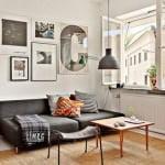 Küçük daireler için dekoratif dekorasyon stilleri 10