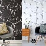 Modern yeni tasarım duvar kağıt örnekleri 3