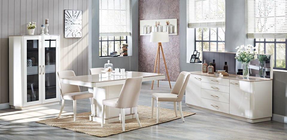 doğtaş yemek masa ve sandalye modelleri