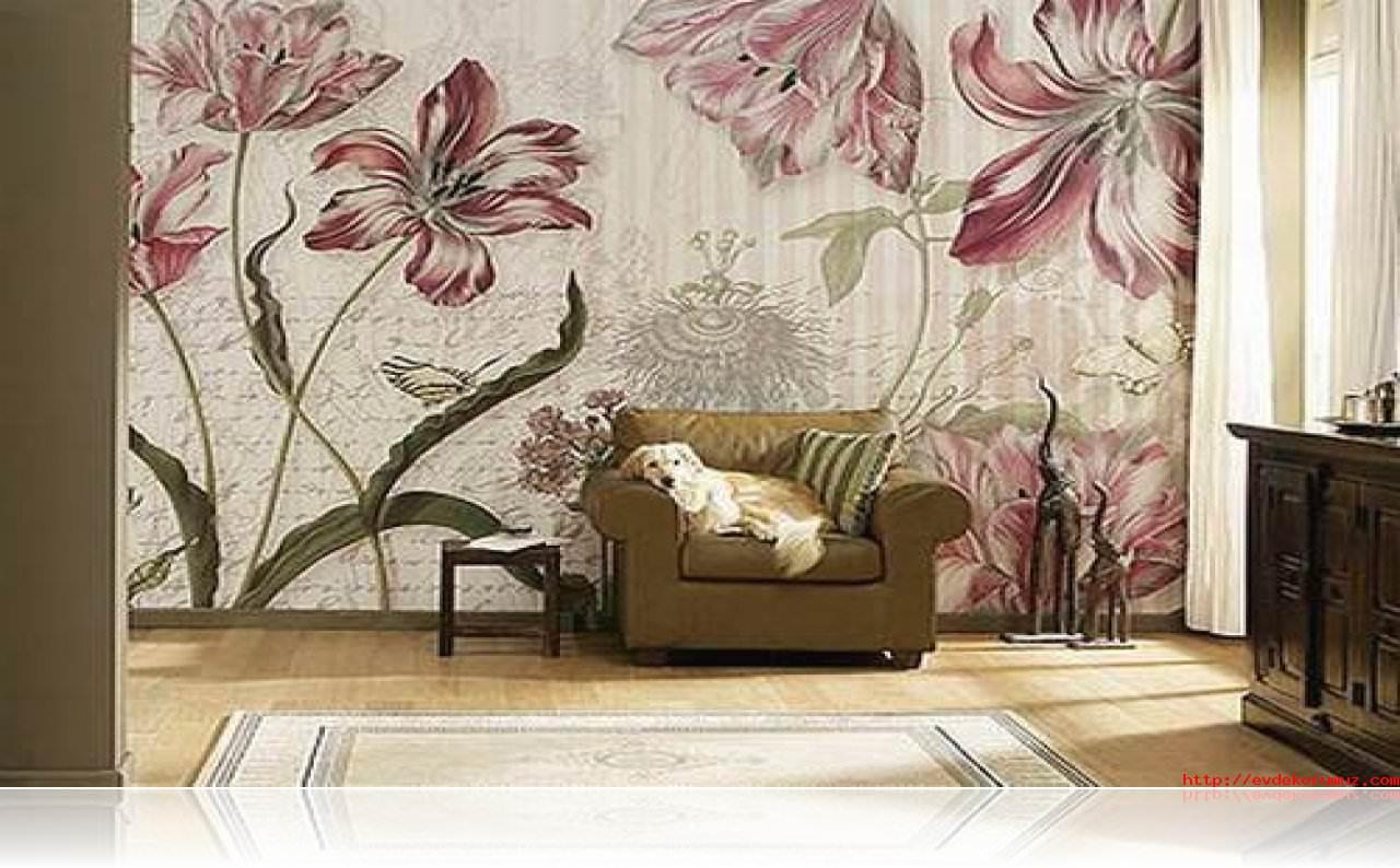 Modern yeni tasarım duvar kağıt örnekleri 5