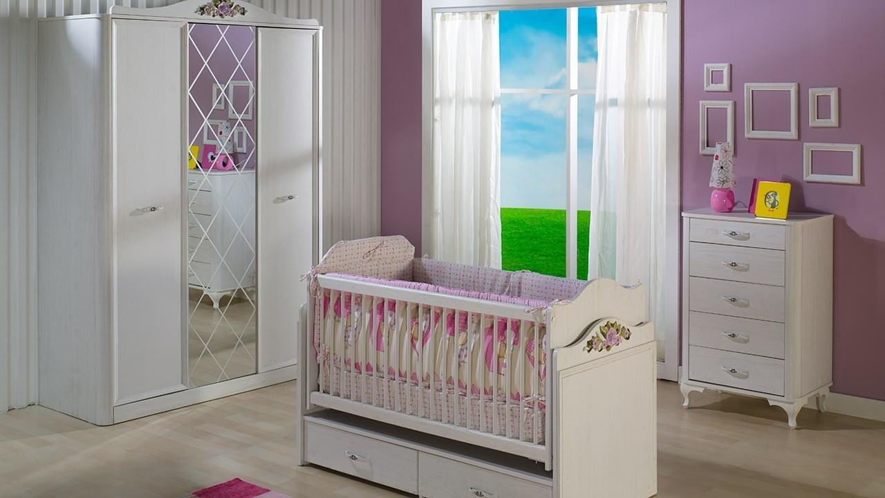 istikbal-mobilya-arya-bebek-odasi-takimi İstikbal mobilya bebek odası mobilya takımları