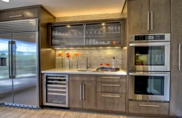 Yeni tasarım lüks mutfak dolap modelleri 4
