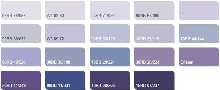 Marshall yeni duvar boyası renk kartelası 31