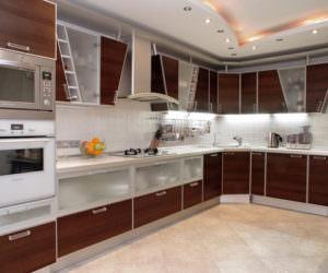 Yeni tasarım lüks mutfak dolap modelleri