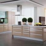 Yeni tasarım lüks mutfak dolap modelleri - modern sutlu kahve mutfak modeli 150x150 - Yeni tasarım lüks mutfak dolap modelleri