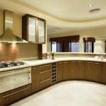 Yeni tasarım lüks mutfak dolap modelleri - oval modern mutfak dolap modeli 150x150 - Yeni tasarım lüks mutfak dolap modelleri