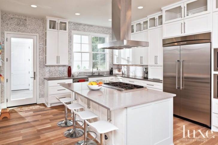 Yeni tasarım lüks mutfak dolap modelleri 12
