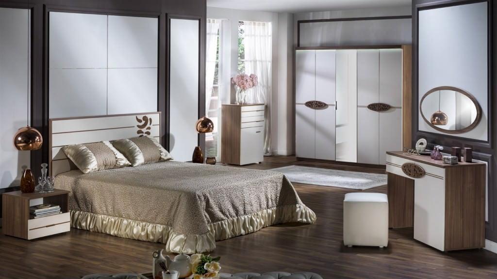 Bellona Yeni tasarım yatak odası takımları 13