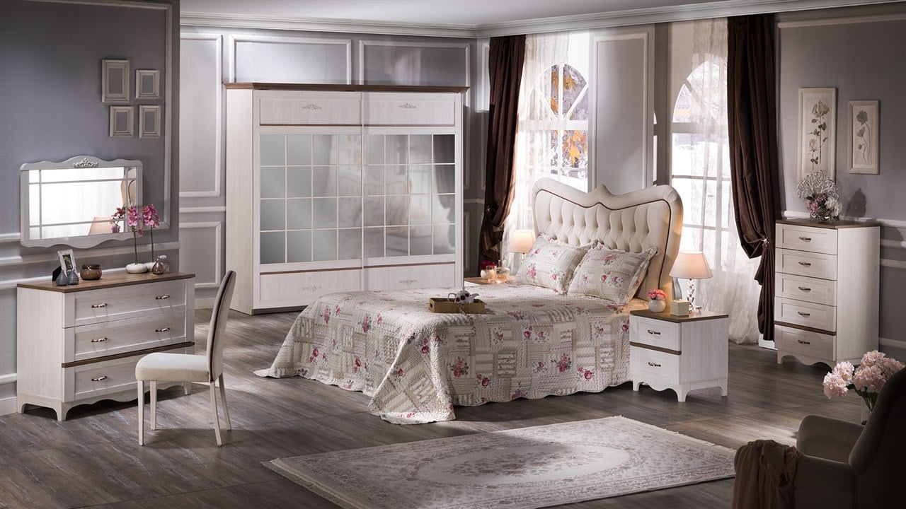 Bellona 2015 tasarım yatak odası takımları 10