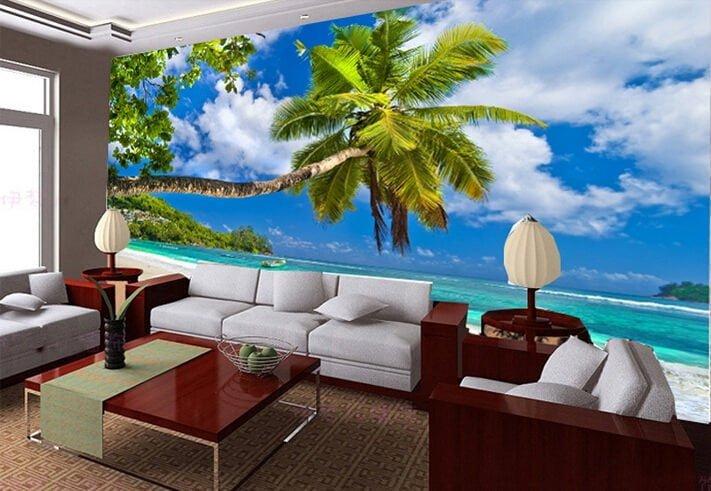Dekoratif dijital baskılı duvar manzara modelleri 11