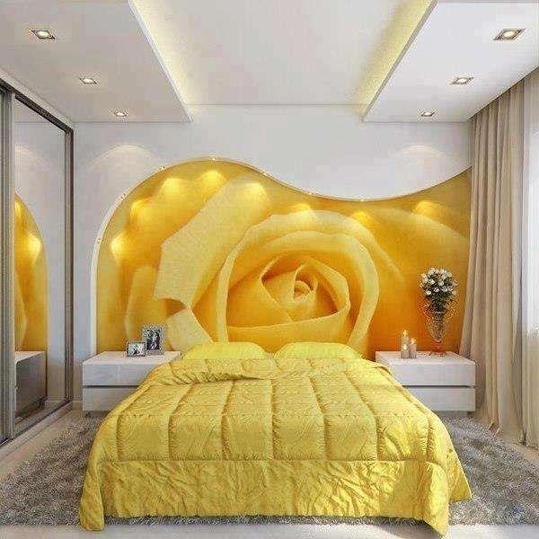 Dekoratif dijital baskılı duvar manzara modelleri 9