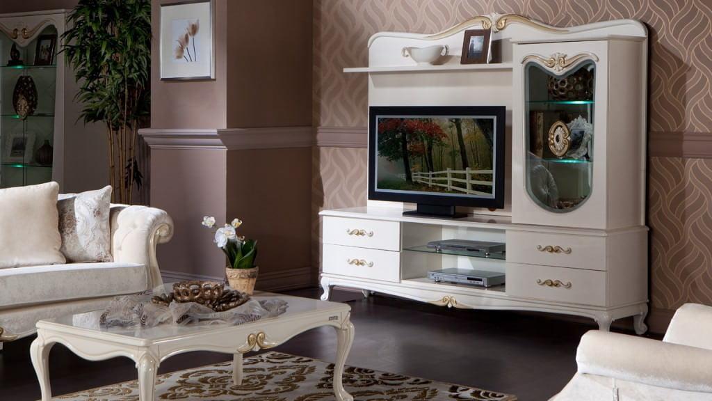 beyaz tv ünite modelleri