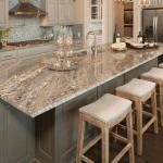 mutfak mermer masa Mutfak dekorasyon ve depolama fikirleri
