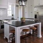 modern mutfak modeli Mutfak dekorasyon ve depolama fikirleri