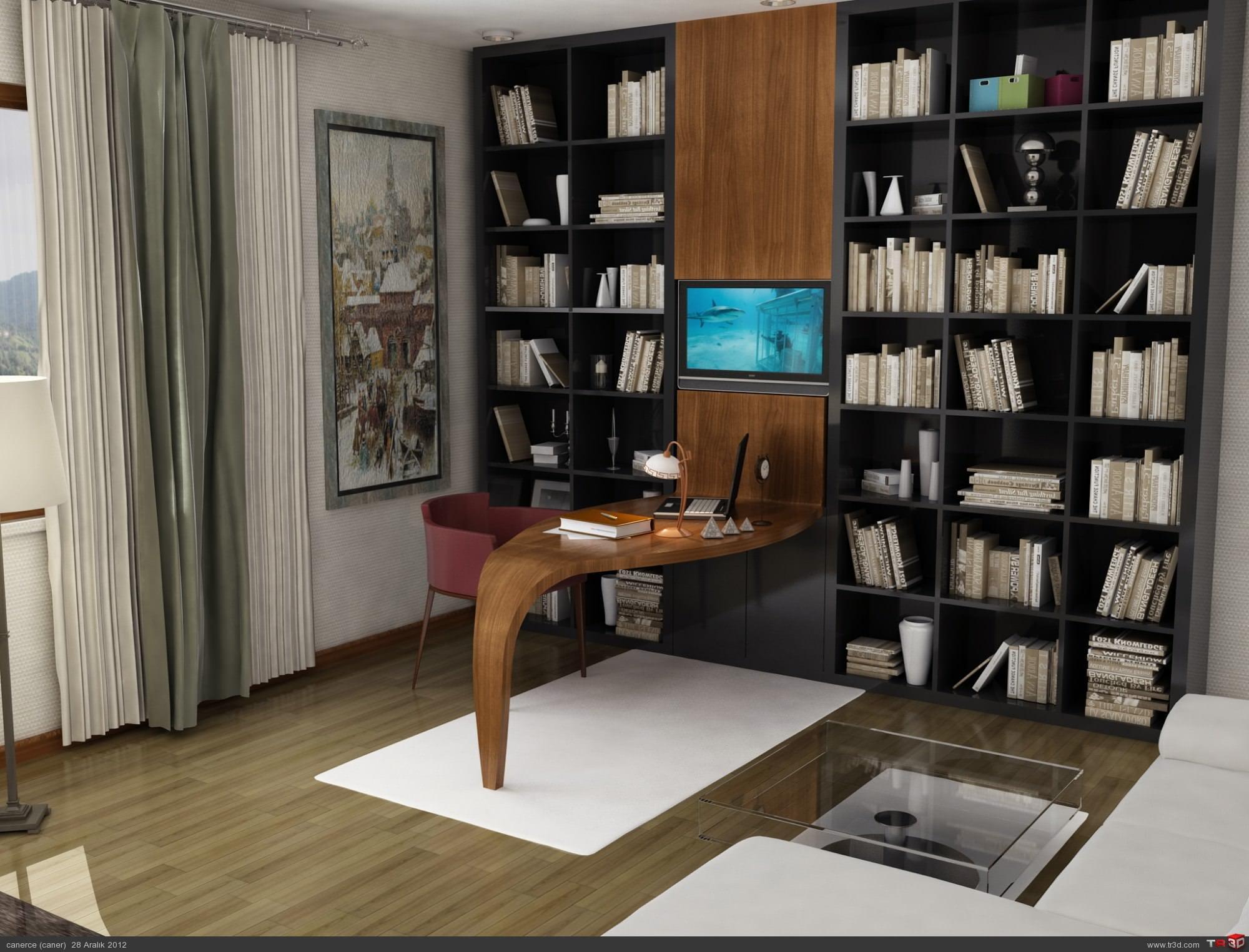 Çalışma odası mobilya
