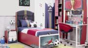 Çilek Çocuk Odası Futbol Konsepti