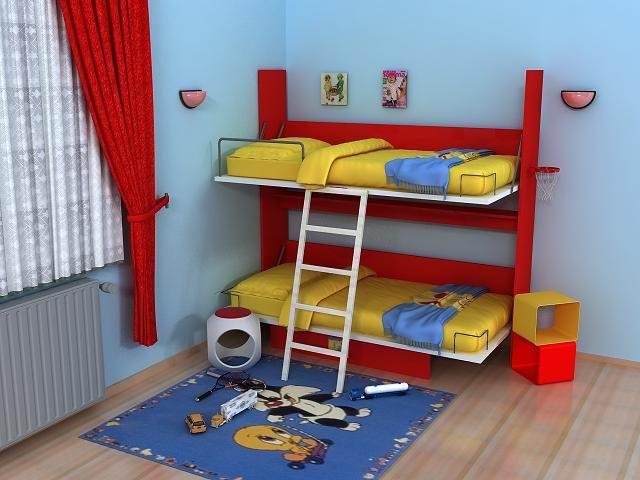 Gaysan Mobilya Çocuk Odası Tasarımları 1