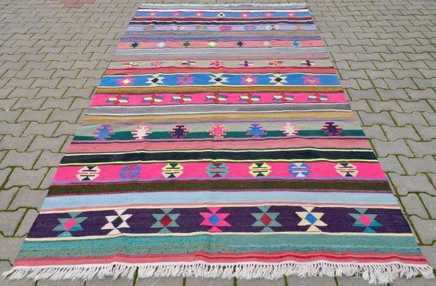 renkli kilimler