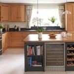 ahşap ceviz mutfak dekorasyonu Mutfak dekorasyon ve depolama fikirleri