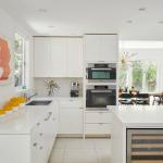 beyaz mutfak tasarımı Mutfak dekorasyon ve depolama fikirleri