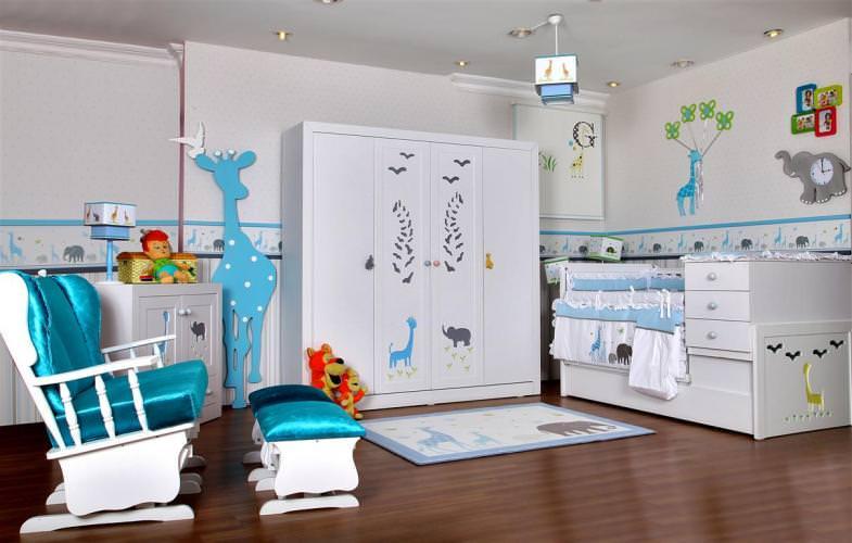 en güzel bebek odası modelleri