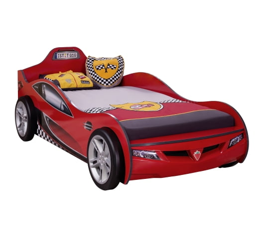 cilek-mobilya-coupe-araba-karyola-kirmizi Çilek mobilya araba karyola modelleri