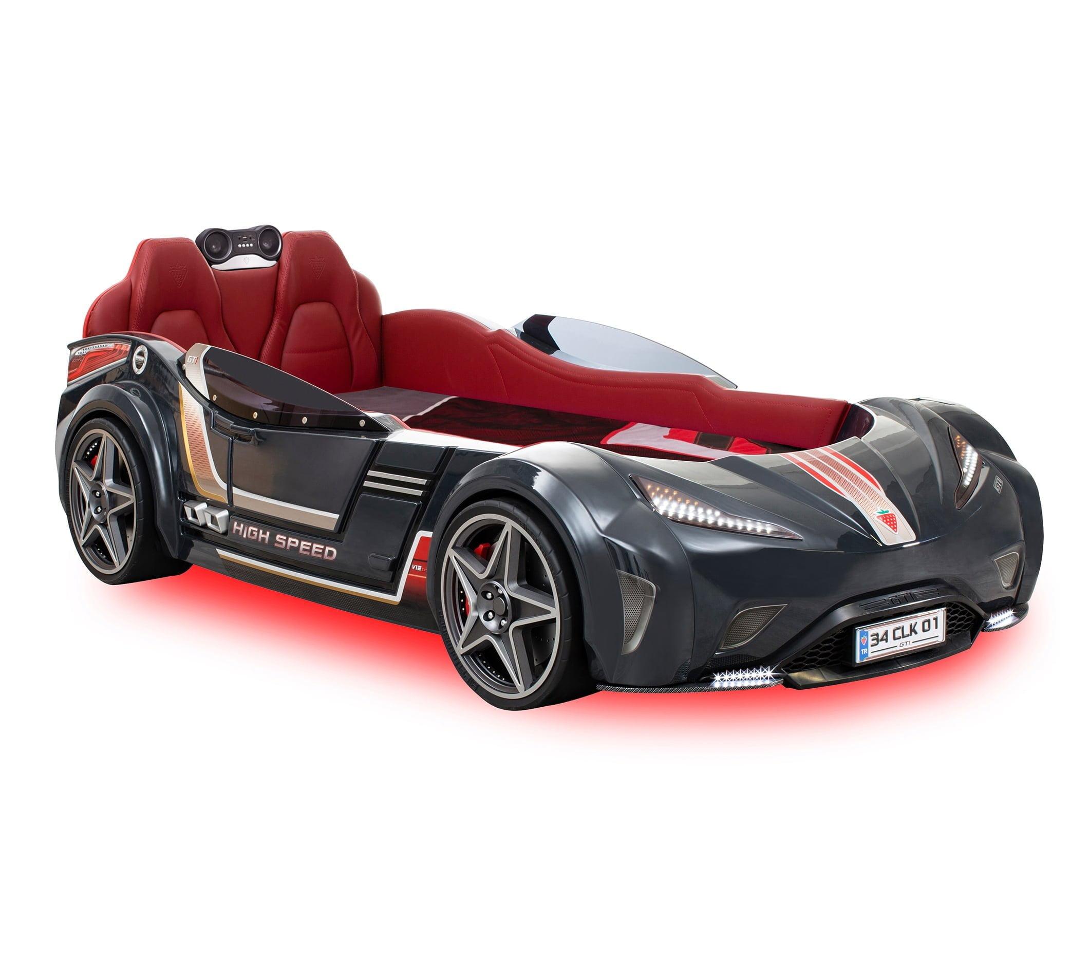 cilek-mobilya-gti-araba-karyola-siyah Çilek mobilya araba karyola modelleri