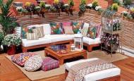 Balkon dekorasyonu rahat ve mükemmel nasıl olmalıdır