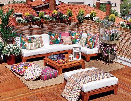 balkon koltuk takımı