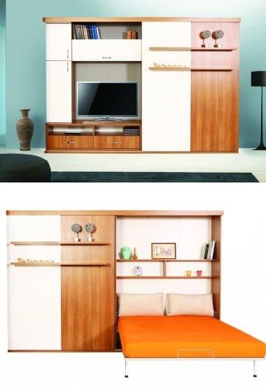 diva-salon-cift-kisilik-katlanir-yatak Gaysan fonksiyonel çift kişilik yatak modelleri