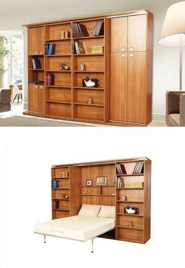 sliding-suit-cift-kisilik-katlanir-yatak Gaysan fonksiyonel çift kişilik yatak modelleri