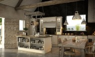 Benzersiz modern açık mutfak tasarımları